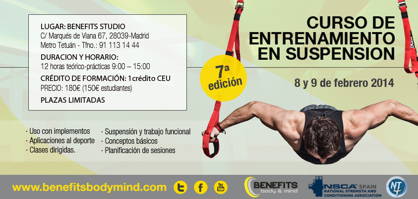 Curso de entrenamiento en suspension Madrid